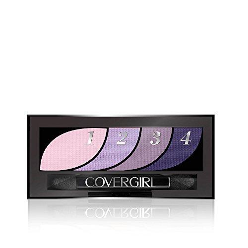 COVERGIRL Eye Shadow Quads Va-Va Violets 710, .06 (Violet Pure Eye Shadow)