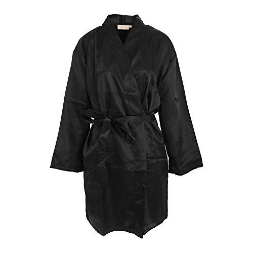 Forever Dreaming - Bata de estar por casa kimono liso para mujer Azul marino