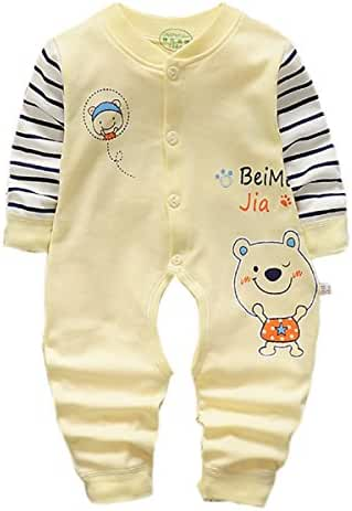 Baby Boy Girl Romper Rabbit Print Jumpsuit Playsuit Outfits