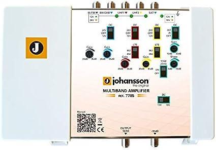 Amplificador Multibanda TDT y Satélite FI con LTE 4G/5G ...