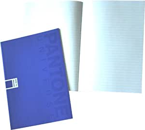 Pantone Ruled Note Book, A5, 24 Sheets, Dazzling Blue, Pack of 5 (50194-88976-4)