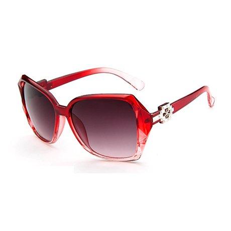 de Brand Mujer Design gran sol tamaño Gafas prismáticas Fashion Mujer Gafas Negro Uv sol Mujer GGSSYY de Gafas Purple de 70w5qEE