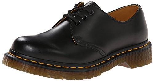 Dr. Martens Women's 1461 W Three-Eye Oxford Shoe Black