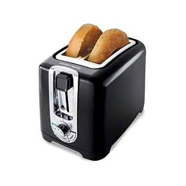 Applica/Spectrum Brands 050875804739 Decker Black 2-Slice Cool Touch Toaster