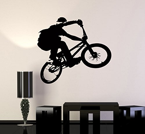 Cheap  Wall Stickers Vinyl Decal BMX Bike Bicycle Extreme Sport Decor For Living..