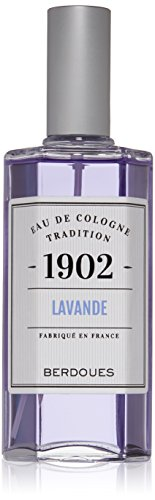 Berdoues Eau de Cologne Spray, Lavander, 4.2 Fl Oz