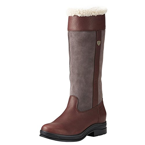 Dark Brown Long Ariat Fur Windermere H2O Boot XHwY8wq