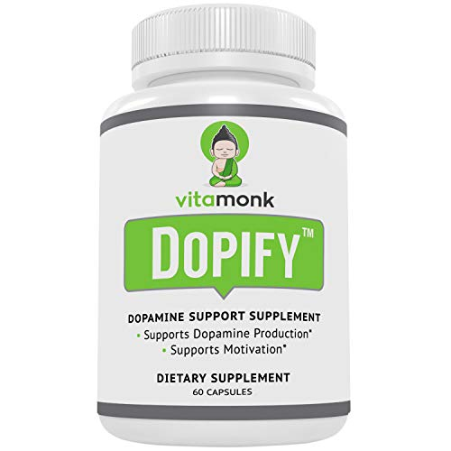 Dopify™ Dopamine Supplement by VitaMonk - Superior Dopamine Booster with Uridine Monophosphate, Mucuna Pruriens Extract (L-Dopa), L-Theanine, Tyrosine and more - No Artificial Fillers, Just Brain Fo