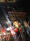 Hitchhiker Sign MOD for Stern's The Walking Dead pinball machine