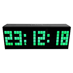 CZYCO Multi-function Remote Control Luminous Digital Timer 6-bit 5 Segment LED Clock