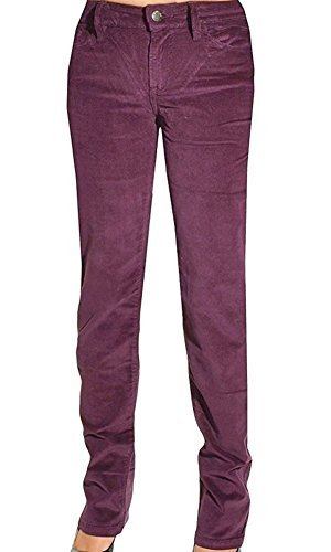 omens Pants Power Stretch Corduroy Straight Leg Slim Fit (2 x 34