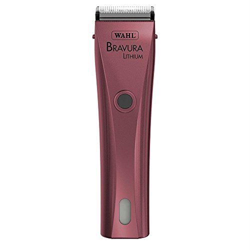 Wahl Professional Animal Bravura Pet, Dog, Cat, and Horse Corded / Cordless Clipper Kit, Pink (#41870-0424) from Wahl Professional Animal