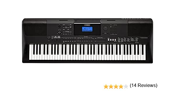 Yamaha PSR-EW400 - Teclado electrónico, portátil: Amazon.es: Instrumentos musicales