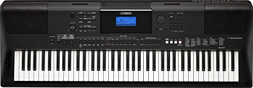 Yamaha PSREW400 76-Key Portable Keyboard with Power Adapter