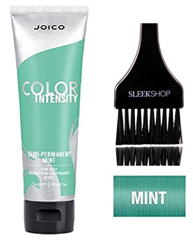 Joico Color Intensity Semi-Permanent Creme Hair Color (with Sleek Tint-Brush) (Mint)