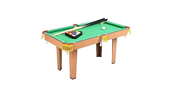 JenLn Sala de Juegos recreativos Equipo Creative Pool Tabla Espacio Guardar Tabla De Billar For Niños Y Adultos De Billar/Mesa De Billar (Color : Green, Size : 52x47x93cm): Amazon.es: Hogar