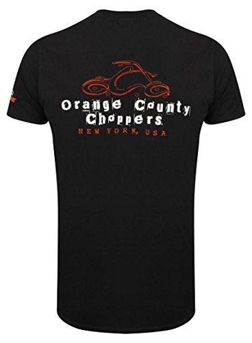 OCC Orange County Choppers T-Shirt Ransom Black