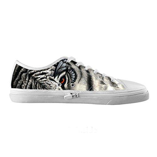 Cheese sobre tamaño Tigre Originals Zapatos Lienzo de alta moda de hombres Moda sobre tamaño de Qualit ¨ ¤ delle Zapatillas de tenis, us8/EUR41