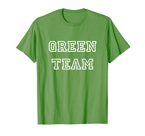 Green Team Sports Camp Corporate Competition Game - Carnival Camp Shirts