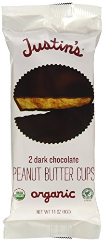 Justin's Nut Butter - Peanut Butter Cups Dark Chocolate - 1.4 oz.