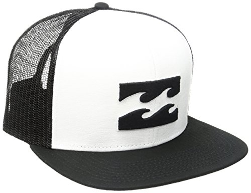 Billabong Men's All Day Trucker Hat, White, One Size ()