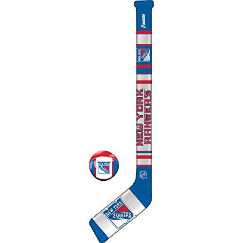 Franklin Sports NHL New York Rangers Team Soft Sport Hockey -