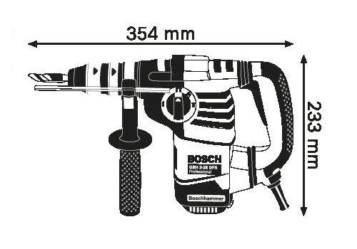 Skizze Bosch GBH 3-28 DFR