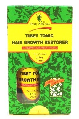 Deity Of Hair Tibet Tonic Hair Growth Restorer 1.7 oz. (3-Pack) with Free Nail File (Nail Tonic)