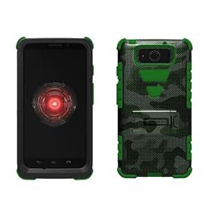 Motorola Droid Ultra/Ultra Maxx XT1080/M Tri Shield Green Ca