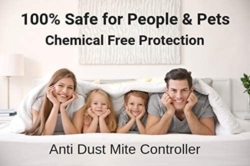 Dust Mite Controller Ultrasonic Repeller Repellent Plug In Reduce Asthma Allergies Eczema Symptoms Dustmite Killer 100 Safe Non Toxic Chemical Free 1 Amazon Co Uk Health Personal Care