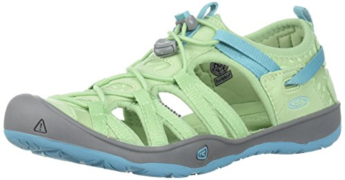 Quiet Dress Moxie Kids' Viridian Green Sandal Blue Sea Dress S Keen Aqua W8HqnSW