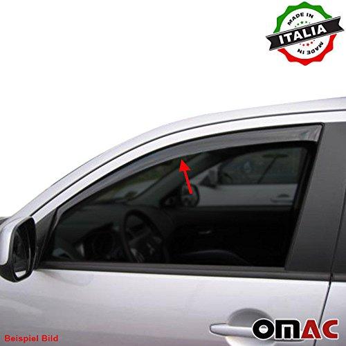 VW TOURAN Deflettori D' aria Deflettore pioggia 2 pezzi set anteriore 2003 –  2015 Omac GmbH