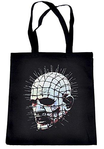 Hellraiser Cenobite Pinhead Tote Bag Gothic Cult Horror Clothing Book Bag