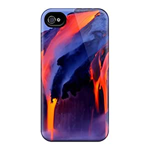 High-quality Durable Protection Case For Iphone 4/4s(lava Flow)