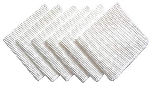 eep Waffle Weave Facial Exfoliator Kitchen Cloths Dishcloths 12