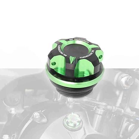 T-Axis Green CNC Oil Filler Cap For Kawasaki ER-6N ER6F Ninja 1000 SX Z1000 14 15 16
