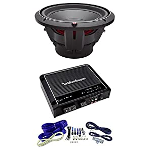 "NEW ROCKFORD FOSGATE P2D4-12 12"" t Dual 4-Ohm Car Audio Sub + R500X1D Amplifier"
