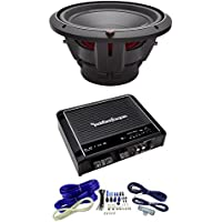 NEW ROCKFORD FOSGATE P2D4-12 12 t Dual 4-Ohm Car Audio Sub + R500X1D Amplifier