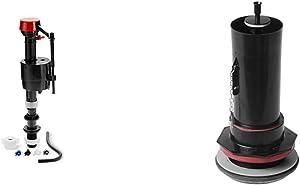 """Kohler Genuine Part Gp1083167 Silent Fill Valve Kit For All Kohler Class Five Toilets,12.5"""" x 3.5"""" x with Kohler Genuine Part 1083980 3"""" Toilet Canister Flush Valve Kit"""