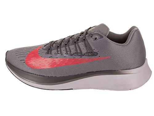 Nike Mens Zoom Fly Scarpa Da Corsa Gunsmoke / Bright Crimson