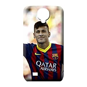 samsung galaxy s4 Shatterproof Durable Perfect Design cell phone carrying cases fc barcelona neymar