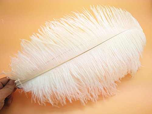 Wholesale! 10-100 pcs ostrich feathers 16-18 inch / 40-45 cm Wedding Set Party decoration household products Dance performance DIY by no!no!