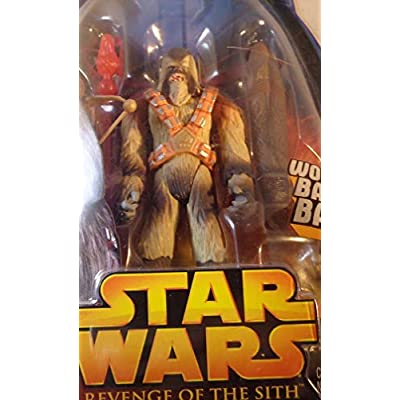 Star Wars Episode III 3 Revenge of the Sith WOOKIEE WARRIOR Battle Bash Figure #43: Toys & Games