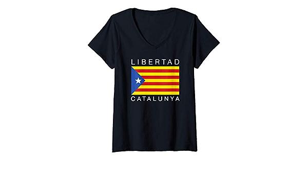 Womens Libertad Catalunya Catalán Catalunya Independencia ...