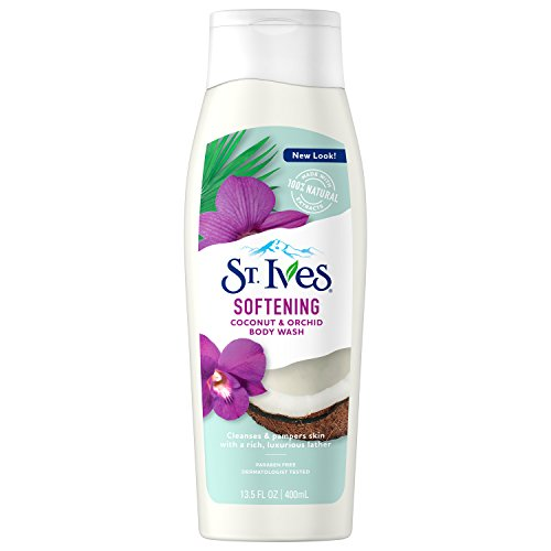 St. Ives Softening Body Wash, Coconut and Orchid, 13.5 oz - Orchid Coconut Body Wash