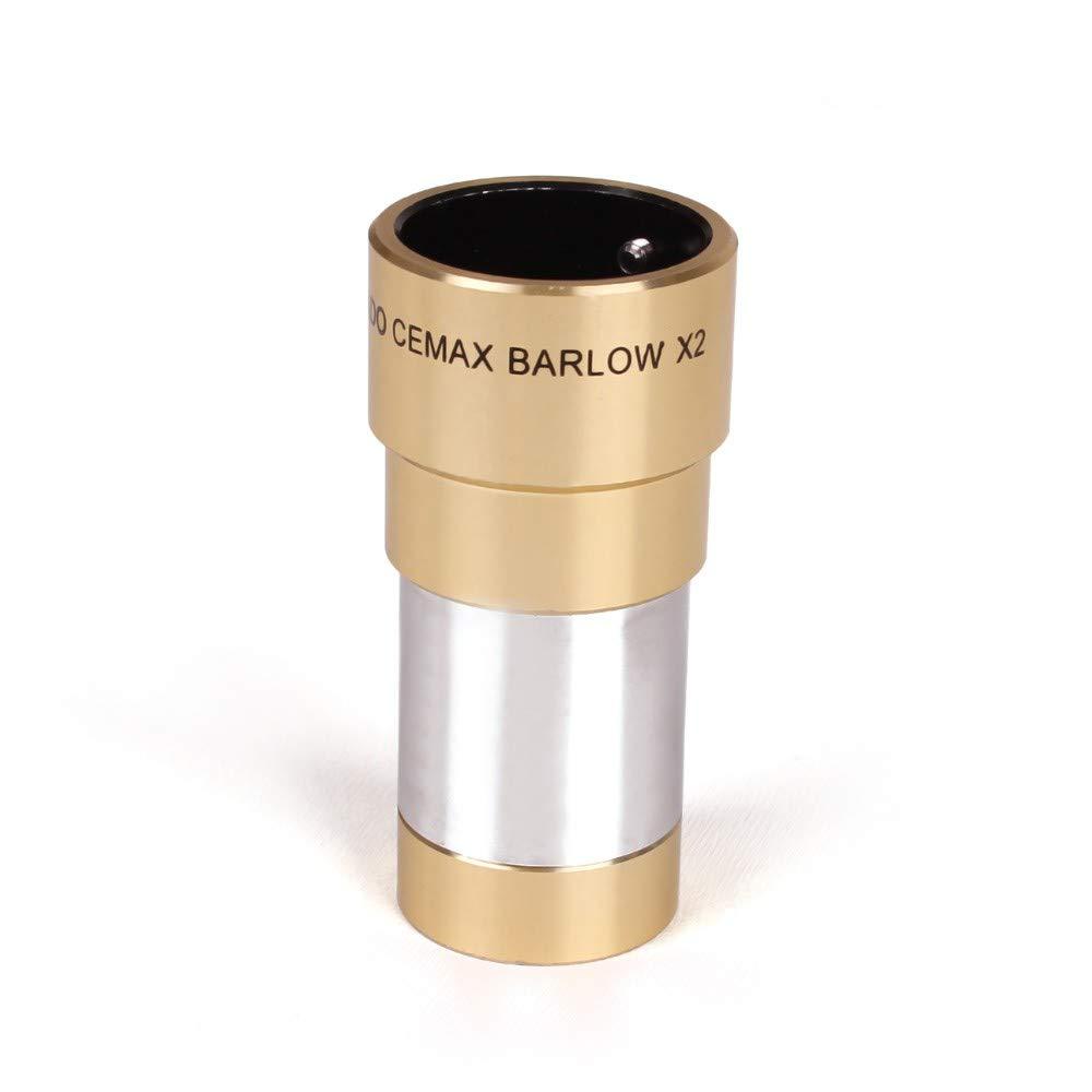 Meade Instruments Coronado BAR CEMAX 2X Barlow Lens by Meade Instruments