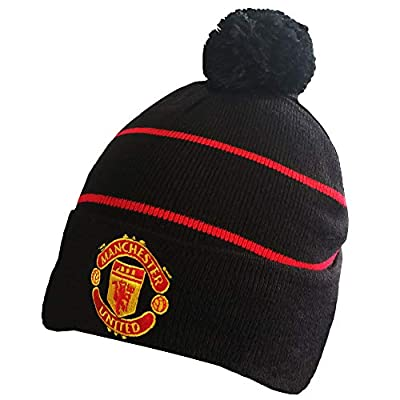 ZQfans FC Soccer Team Embroidered Winter Hat for Men Women Fashionable Knitted Beanie Hat Unisex