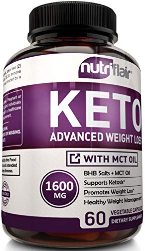 Keto Diet Pills - 1600mg Advanced Weight Loss Ketosis Supplement - All Natural | eBay