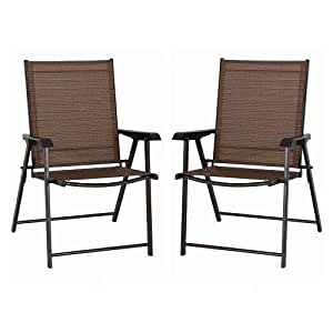 Coronado Patio Sling Chair 2-piece Set
