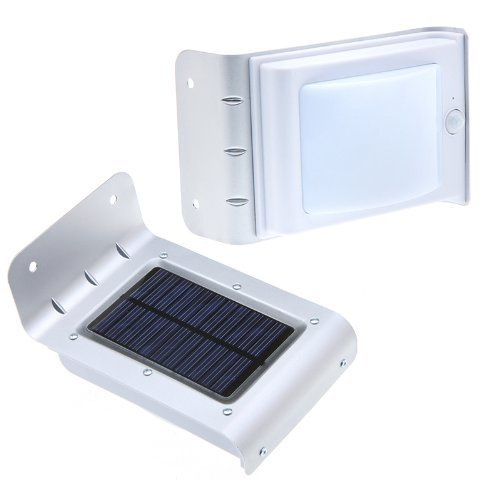Electrowide 16 Bright LED Wireless Solar Powered Motion Sensor Light Lamp (Weatherproof, Built in Lithium battery included, Original, Now on Amazon)